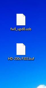 fichier fw8 upd8.usb