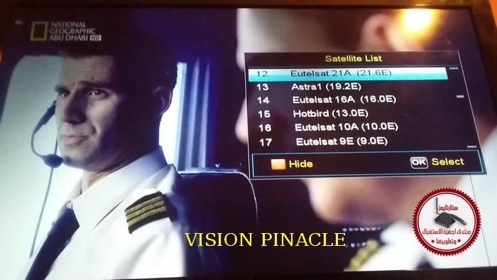 ملف قنوات FOREVER VISION PINACLE