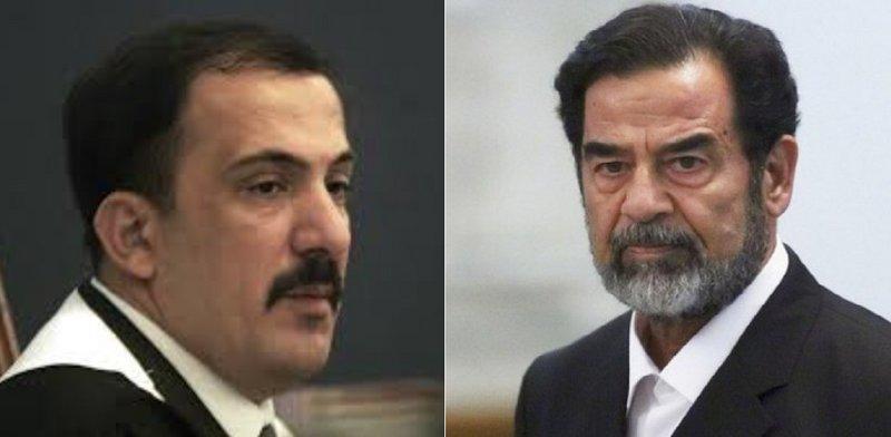 وفاة القاضي خليفه العريبي الذي حاكم صدام حسين(صوره)